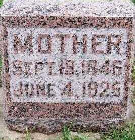 BAUDER, SALONE (MRS. GOTTLIEB) - Sioux County, Iowa   SALONE (MRS. GOTTLIEB) BAUDER