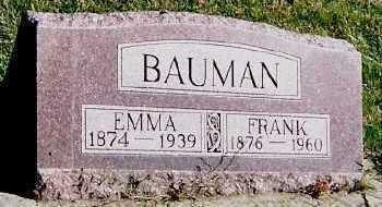 BAUMAN, EMMA - Sioux County, Iowa | EMMA BAUMAN