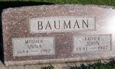 BAUMAN, JOHN - Sioux County, Iowa | JOHN BAUMAN
