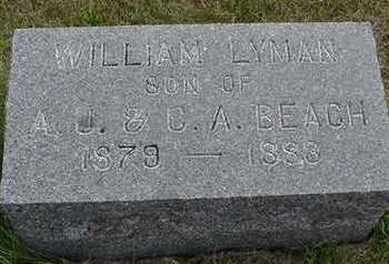 BEACH, WILLIAM LYMAN - Sioux County, Iowa | WILLIAM LYMAN BEACH