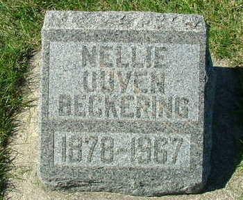 BECKERING, NELLIE - Sioux County, Iowa | NELLIE BECKERING