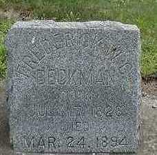 BECKMAN, FREDERICK W. C. - Sioux County, Iowa   FREDERICK W. C. BECKMAN