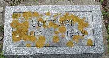BECKMAN, GERTRUDE - Sioux County, Iowa | GERTRUDE BECKMAN