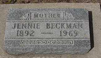 BECKMAN, JENNIE - Sioux County, Iowa | JENNIE BECKMAN
