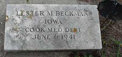 BECKMAN, LESTER M. - Sioux County, Iowa | LESTER M. BECKMAN