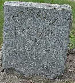 BECKMAN, ROSALIE - Sioux County, Iowa | ROSALIE BECKMAN