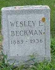 BECKMAN, WESLEY E. - Sioux County, Iowa | WESLEY E. BECKMAN