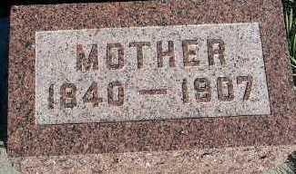 BEEK, MOTHER - Sioux County, Iowa   MOTHER BEEK