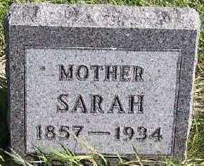 BELLESFIELD, SARAH - Sioux County, Iowa   SARAH BELLESFIELD