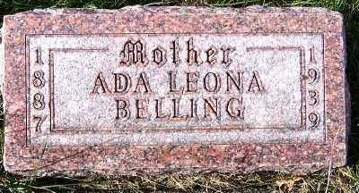 BELLING, ADA LEONA - Sioux County, Iowa | ADA LEONA BELLING
