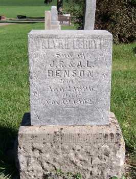 BENSON, ALVAH LEROY - Sioux County, Iowa | ALVAH LEROY BENSON