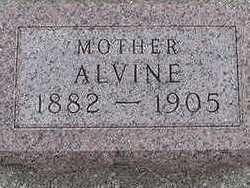 BERTRAM, ALVINE - Sioux County, Iowa   ALVINE BERTRAM