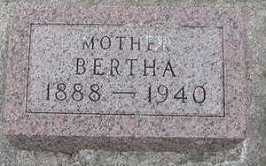 BERTRAM, BERTHA (MOTHER) - Sioux County, Iowa | BERTHA (MOTHER) BERTRAM