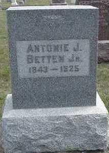 BETTEN, ANTONIE J. JR  D.1925 - Sioux County, Iowa | ANTONIE J. JR  D.1925 BETTEN