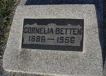 BETTEN, CORNELIA - Sioux County, Iowa | CORNELIA BETTEN