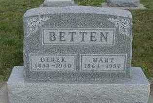 BETTEN, MARY - Sioux County, Iowa | MARY BETTEN