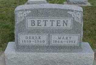 BETTEN, DEREK - Sioux County, Iowa | DEREK BETTEN
