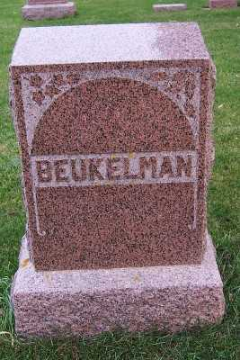 BEUKELMAN, FAMILY HEADSTONE - Sioux County, Iowa | FAMILY HEADSTONE BEUKELMAN