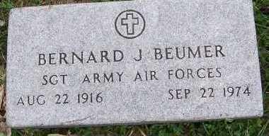 BEUMER, BERNARD J. - Sioux County, Iowa | BERNARD J. BEUMER
