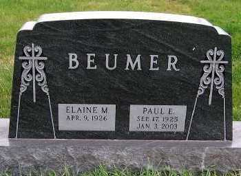 BEUMER, PAUL E. - Sioux County, Iowa | PAUL E. BEUMER