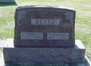 BEYER, HENRY - Sioux County, Iowa | HENRY BEYER