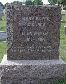MEYER, ELLA - Sioux County, Iowa | ELLA MEYER
