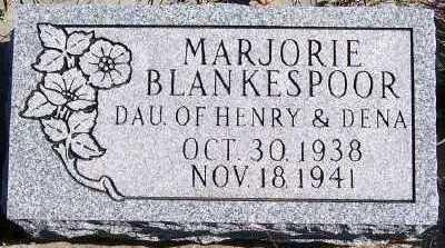 BLANKESPOOR, MARJORIE - Sioux County, Iowa   MARJORIE BLANKESPOOR