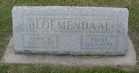 BLOEMENDAAL, FREDA (MRS. JOHN H.) - Sioux County, Iowa | FREDA (MRS. JOHN H.) BLOEMENDAAL