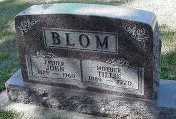 BLOM, TILLIE - Sioux County, Iowa | TILLIE BLOM