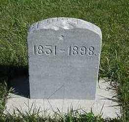 BLOOD, GEORGE - Sioux County, Iowa | GEORGE BLOOD
