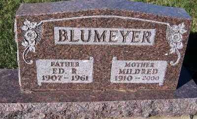 BLUMEYER, ED R. - Sioux County, Iowa   ED R. BLUMEYER