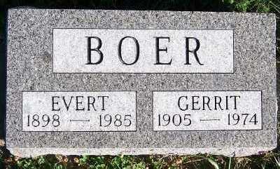 BOER, GERRIT - Sioux County, Iowa | GERRIT BOER
