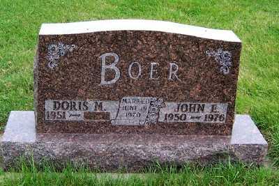 BOER, JOHN E. - Sioux County, Iowa | JOHN E. BOER