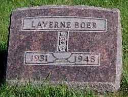BOER, LAVERNE - Sioux County, Iowa | LAVERNE BOER