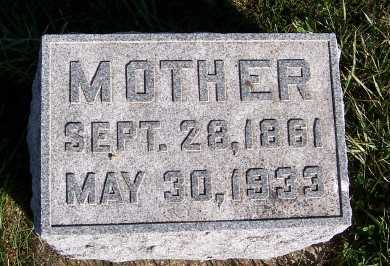BOER, MOTHER - Sioux County, Iowa | MOTHER BOER