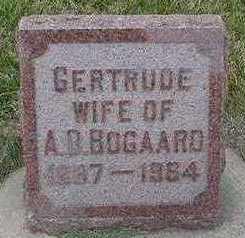 BOGAARD, GERTRUDE (MRS. ARIE D.) - Sioux County, Iowa | GERTRUDE (MRS. ARIE D.) BOGAARD