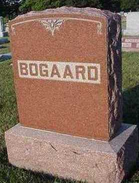 BOGAARD, HEADSTONE - Sioux County, Iowa | HEADSTONE BOGAARD