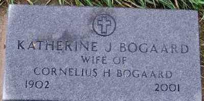 BOGAARD, KATHERINE J. (MRS. CORNELIUS H.) - Sioux County, Iowa | KATHERINE J. (MRS. CORNELIUS H.) BOGAARD