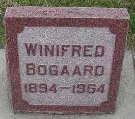 BOGAARD, WINIFRED - Sioux County, Iowa | WINIFRED BOGAARD