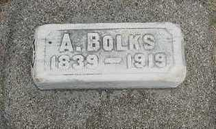 BOLKS, A. - Sioux County, Iowa | A. BOLKS