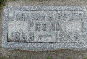BOLKS, JOHANNA - Sioux County, Iowa | JOHANNA BOLKS