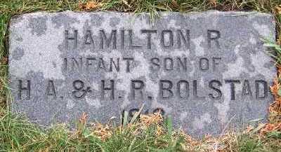 BOLSTAD, HAMILTON (1918) - Sioux County, Iowa   HAMILTON (1918) BOLSTAD
