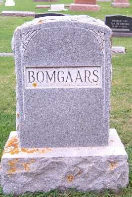 BOMGAARS, FAMILY HEADSTONE - Sioux County, Iowa | FAMILY HEADSTONE BOMGAARS