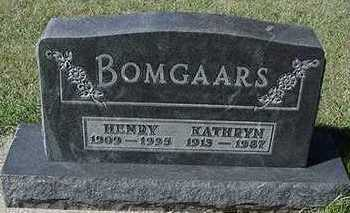 BOMGAARS, HENRY - Sioux County, Iowa | HENRY BOMGAARS