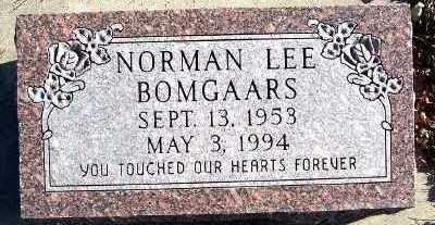 BOMGAARS, NORMAN LEE - Sioux County, Iowa   NORMAN LEE BOMGAARS