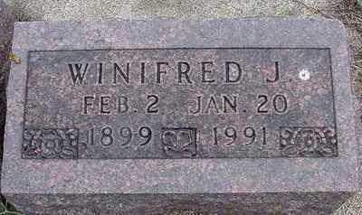 BOMGAARS, WINIFRED - Sioux County, Iowa   WINIFRED BOMGAARS
