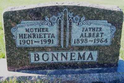 BONNEMA, ALBERT - Sioux County, Iowa | ALBERT BONNEMA