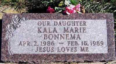 BONNEMA, KALA MARIE - Sioux County, Iowa | KALA MARIE BONNEMA