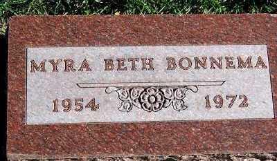 BONNEMA, MYRA BETH - Sioux County, Iowa | MYRA BETH BONNEMA