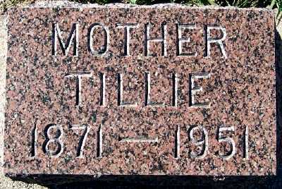 BONNEMA, TILLIE - Sioux County, Iowa | TILLIE BONNEMA